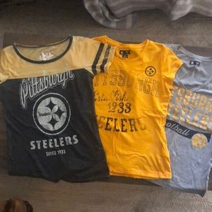 NEW Pittsburgh Steelers Shirts (3 Shirts)